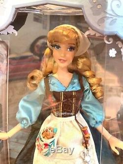Disney LE 17 Cinderella Doll in Peasant/Rags IN HAND NEW Limited Edition 70th