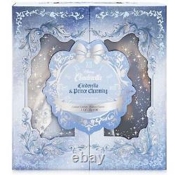 Disney Limited 17 Platinum Doll Set Cinderella Prince Charming Wedding LE 600