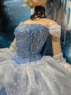 Disney Limited Edition Cinderella Doll 1 of 5000 New in Box Disney Store 2012