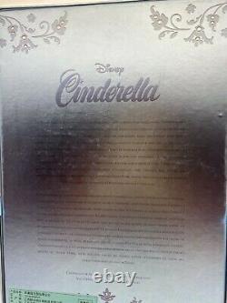 Disney Limited Edition Cinderella Doll L5200 70th Anniversary 17 In Peasant Rag