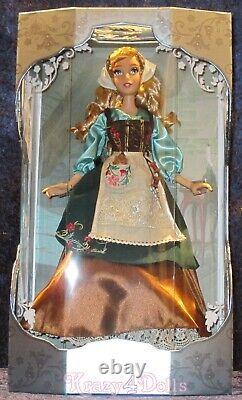 Disney Limited Edition Designer Cinderella 70th Anniversary Doll NEW