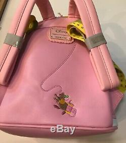 Disney Loungefly Cinderella 70th Anniversary Dress Mini Backpack New In Hand