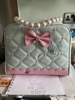 Disney Loungefly Cinderella 70th Pearl Handle Bag