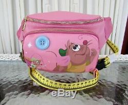 Disney Loungefly Cinderella Gus Gus Fanny Pack Hip Bag Purse NWT