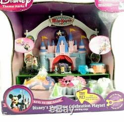 Disney Magic Kingdom Castle Playset Vintage Polly Pocket Cinderella NEW IN BOX
