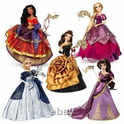 Disney Midnight Masquerade Limited Edition Princess Dolls/ Makeup Packs NEW