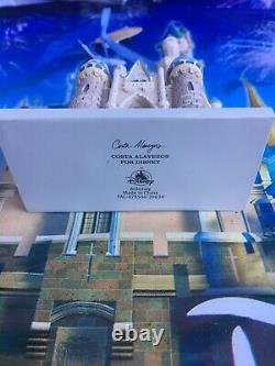 Disney Parks 2020 Magic Kingdom Cinderella's Castle Miniature Ornament New