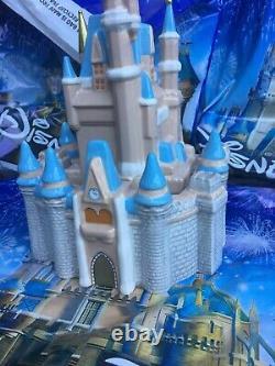 Disney Parks 2021 Magic Kingdom Cinderella Castle Ceramic Cookie Jar Canister