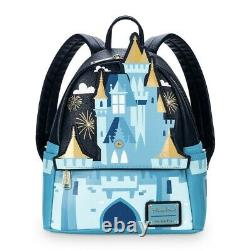 Disney Parks Cinderella Castle Fantasyland Mini Loungefly Backpack Rare! NWT