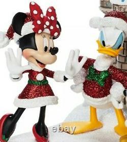 Disney Parks Cinderella Castle Figurine Figure Christmas Holiday Mickey NEW