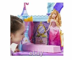 Disney Princess Royal Dreams Castle Doll House with Elevator & 15+ Accessories NEW