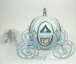 Disney Scentsy Cinderella Carriage Wax Warmer New In Box Princess Carriage Blue
