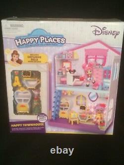 Disney Shopkins Happy Places Townhouse Theme Packs Cinderella Belle Blind Bags