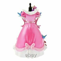 Disney Store 2021 Figure Cinderella Pink Dress with Jack Gus and the blue birds