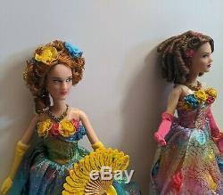 Disney Store Anastasia & Drisella 2015 Cinderella Film Doll Great Condition Rare