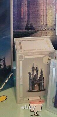 Disney Store Castle Collection Ornament Cinderella 1/10 In Series New