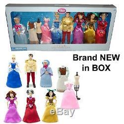 Disney Store Cinderella Deluxe Classic Doll Gift Set Brand NEW super rare! Mint