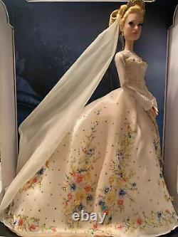 Disney Store Cinderella Platinum Wedding Dress 17 Limited Edition #495 (of 500)