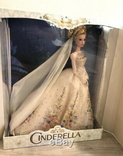 Disney Store Cinderella Platinum Wedding Limited Edition Doll 1 Of 500