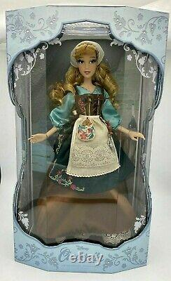 Disney Store Cinderella Rags Doll 70th Anniversary 17 Limited Edition