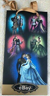 Disney Store Fairytale Designer Collection Doll Cinderella Charming Set withBag