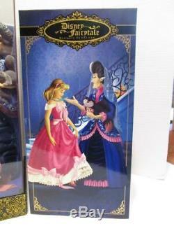 Disney Store Fairytale Designer Collection LE Cinderella Lady Tremaine Doll Set