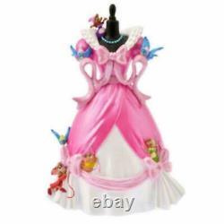 Disney Store Japan Cinderella Pink Dress Figure Anniversary Collection New