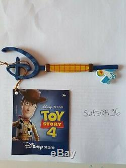 Disney Store Key Bundle Lot Mickey Aladdin Cinderella Toy Story 4