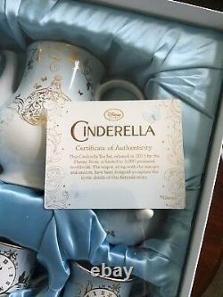 Disney Store Limited Edition Exclusive Cinderella Tea Set