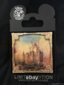 Disney THOMAS KINKADE Morning Star Breakfast New Day at Cinderella Castle Pin