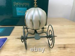 Disney WDCC Enchanted Places An Elegant Coach for Cinderella with COA