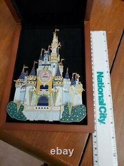 Disney WDW Happiest Celebration On Earth Cinderella Castle Super Jumbo Pin LE