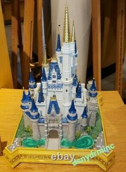Disney World Parks Large Cinderella Castle Sculpture Big Medium Figure NEW