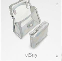 Disney X Aldo Cinderella Bobbidi-boo Top Handle Silver Bag NWT