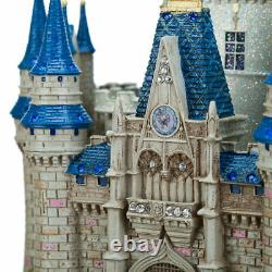 Disney parks wdw cinderella castle medium statue figure nikolai new with box