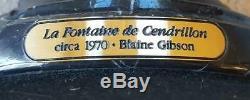 Disney's Cinderella, La Fontaine de Cendrillon Bronze Sculpture, 45/100