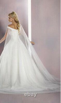 Disney's Cinderella Wedding Dress Bridal Gown Custom Size