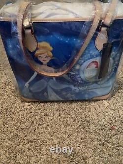 Dooney & Bourke Disney Cinderella Dream Big Princess Shopper Tote Purse Gus Jaq