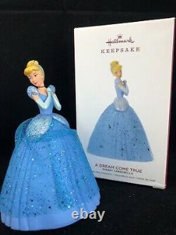 Dream Come True 2019 Hallmark Disney Cinderella Ornament