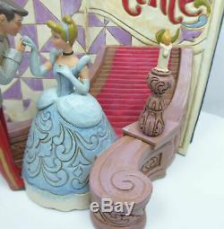 Figur Disney Enesco Jim Shore Traditions StoryBook Cinderella Storybook 4031482