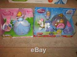 Fisher Price Little People Disney Princess Ultimate Cinderella Ball Garden SET
