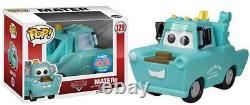 Funko Pop Disney Cars #129 Mater (dinoco) Nycc 2015 Exclusive Vinylfast Post