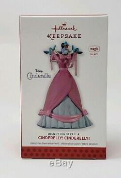 Hallmark 2013 Cinderelly Disney Magic Music Cinderella Nib Mib