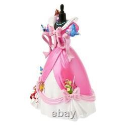 IN HAND! Disney Store JAPAN 2021 Figure Cinderella Pink Dress Revival