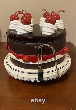 KATE SPADE Cherry Cake RARE! Ma Cherie Collection Novelty 3D Handbag