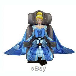Kids Embrace Disney Cinderella Platinum Combination Harness Booster Car Seat