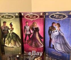 LE Disney Fairytale Designer SET #31 Cinderella, Pocahontas, Mulan, Tiana, Aurora