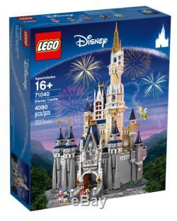LEGO The Disney Castle Set 71040 Walt Disney World Cinderella NEW NIB