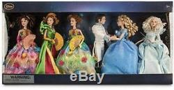 Last one Rare HTF Live Action Cinderella Movie Doll Set