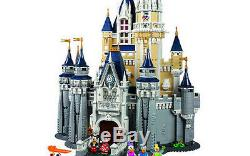 Lego Cinderella Disney Castle Never Opened- 5 Minifigs inc. Tinkerbell! #71040
